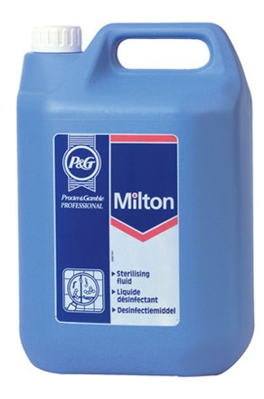 Sterilising Fluid, Milton, 5Ltr