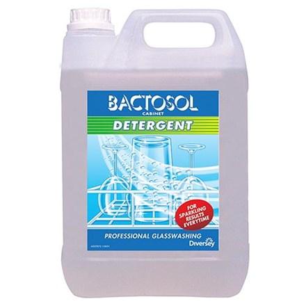Detergent, Bactosol, Cabinet Glasswash