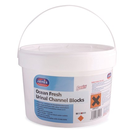 Toilet, Channel Cubes, Jeyes Sanilav, Ocean Fresh, 3kg