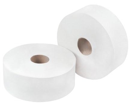"Toilet Rolls, Midi Jumbo, Premium, 2.25""/60mm Core, 200m, 12 Rolls"