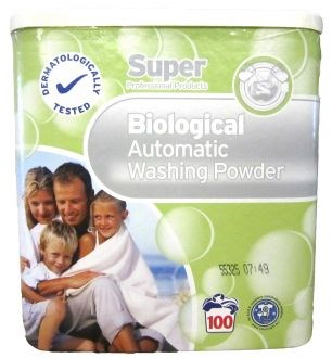 Washing Powder, Super Professional, Bio. 8.1 kg, 100 Wash