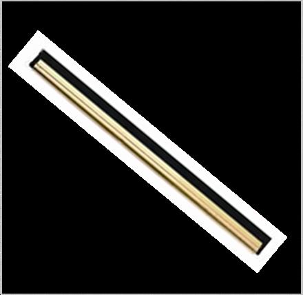 """Window, Brass Channel & Rubber, 30cm (12"""")"""
