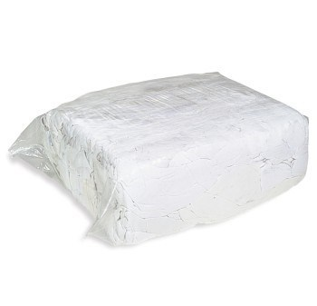 Rags, White Cotton, 10Kg