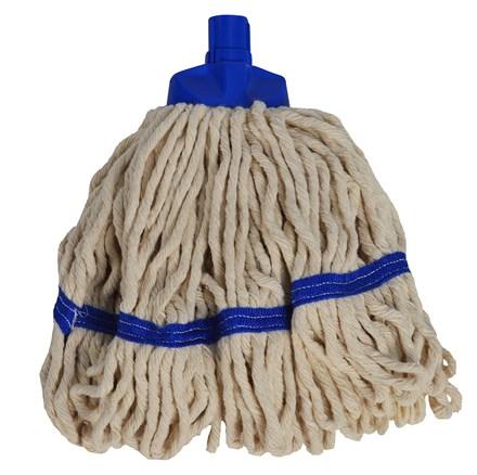 Mop Heads, SYR Freedom, Midi, White Yarn, Blue