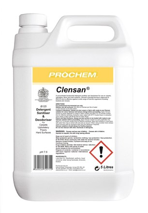 Carpet, Prochem, Sanitizer, Clensan, 5Ltr
