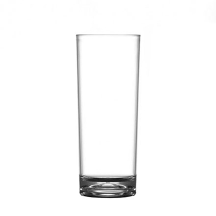 Glassware, Hi Ball, 12oz, Nucleated, Case 48