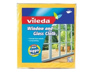 Cloths, Vileda, Window, Yellow