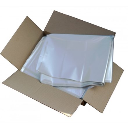 "Refuse Sacks, Clear, XHD, 180g, 18x29x39"", 200 Bags"