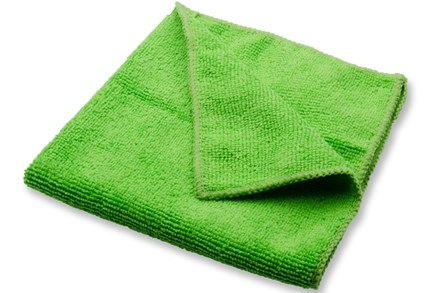 Cloths, Microfibre, 40 x 40 cm, Green, Pk 10