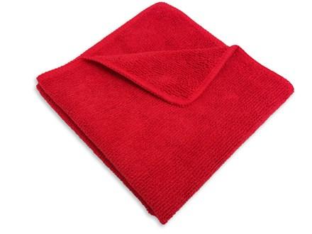 Cloths, Microfibre, 40 x 40 cm, Red, Pk 10