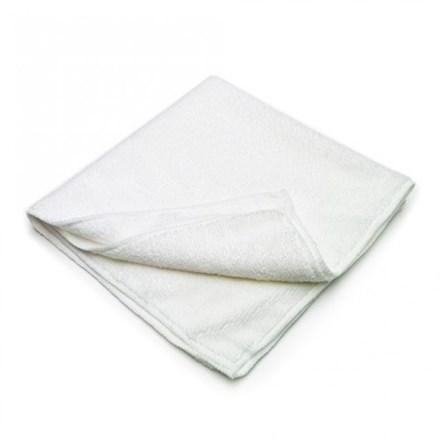 Cloths, Microfibre, 40 x 40 cm, White, Pk 10