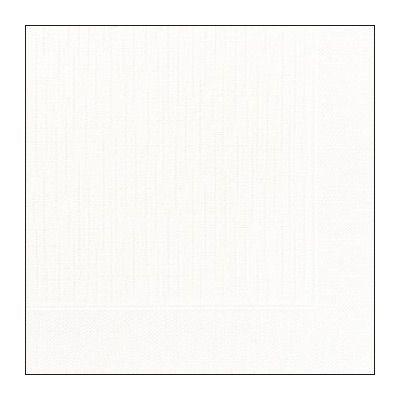 Napkins, Dunilin, 40cm, White, 600