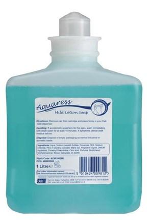 Soap, Hand, DEB Aquaress Hyfoam, 6 x 1Ltr