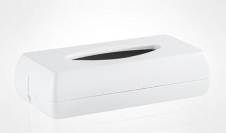 Dispenser, Paper, Tissue, White, 270 x 140 x 70mm