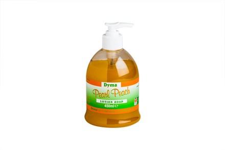 Soap, Hand, Dymapearl Peach, Liquid, 6 x 450ml
