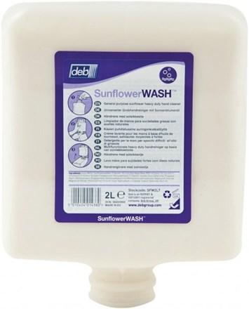Soap, Hand, DEB Sunflower Wash, 4 x 2Ltr