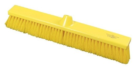 Brush, Hygiene, Sweeping Broom, Soft, Yellow, 500mm x 75mm