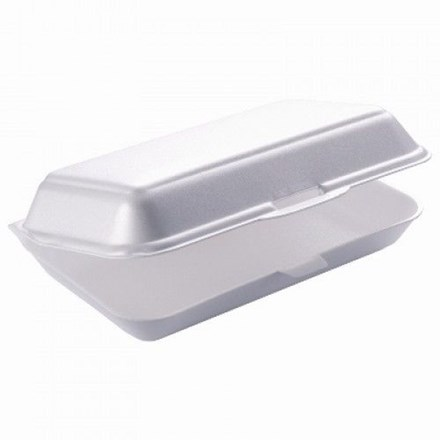 Catering, Tray, HP3, Burger & Fries, Lge, 240x133x75mm, 500