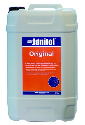 Hard Surface Cleaner, DEB Janitol Original, 25Ltr