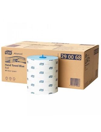 Handwipes, Tork, Towel Roll H1, 150mx21cm, 2Ply Blue, 6