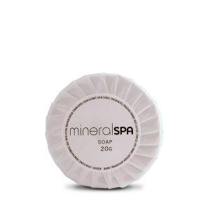 Toiletries, Mineral Spa, Pleat  Wrap Soap, 200x20g