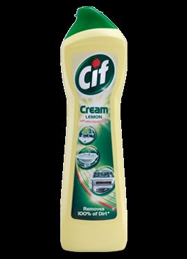 Cream Cleaner, Cif, Lemon, 500ml