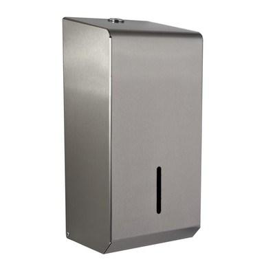 Dispenser, Paper, Bulk Pack, Stainless Steel