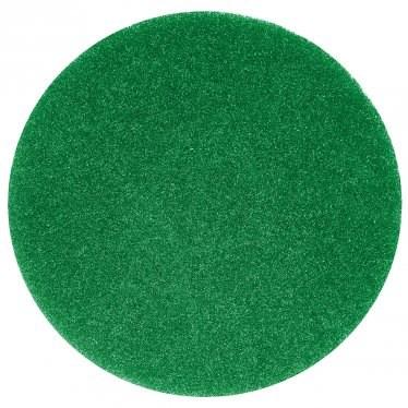 "Floor Pads, British Nova, Green, 16"", (406mm), 5 Pads"