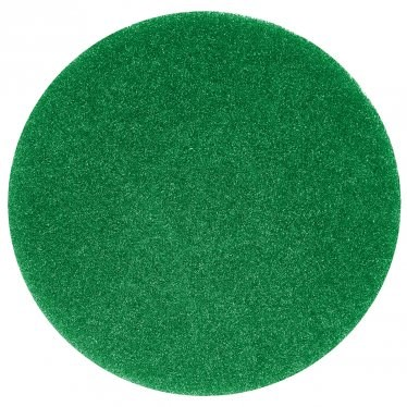 "Floor Pads, British Nova, Green, 17"", (432mm), 5 Pads"