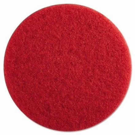 "Floor Pads, British Nova, Red, 20"", (508mm), 5 Pads"