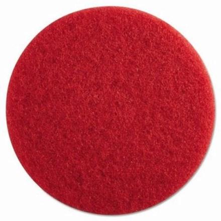 "Floor Pads, British Nova, Red, 21"", (533mm), 5 Pads"