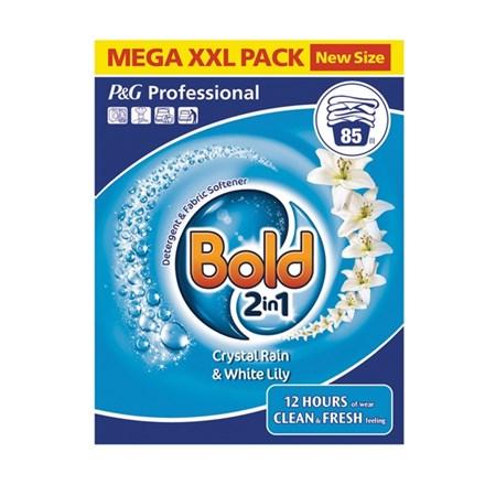 Washing Powder, Bold, Crystal Rain, Bio, 85 Wash, 6.8kg