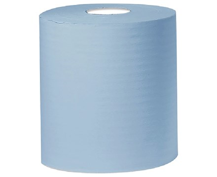 Floor Stand Rolls, 2Ply, Embossed, 350m x 28cm, Blue, 2 Roll