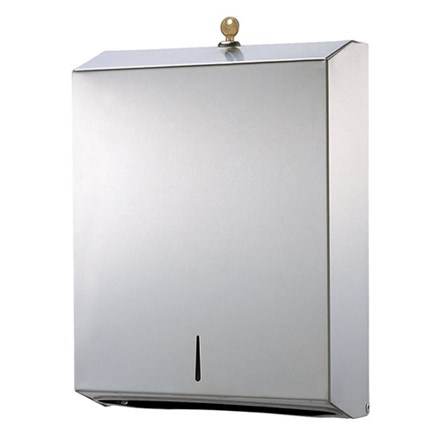 Dispenser, Paper, Hand Towel, Stainless Steel, Polished