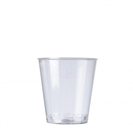 Glassware, Disposable, Shot Glass, 30ml, 1oz, 1000