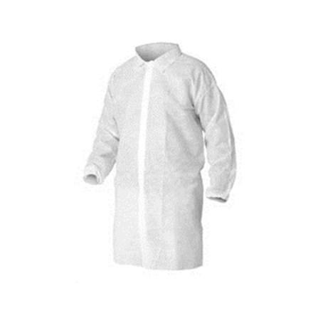 Visitors Coat, Non-Woven, Disposable, M, 100