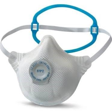 Safety, Dust Masks, Moldex 2495, 1-Strap, FFP2 Smart Solo NR D, 20