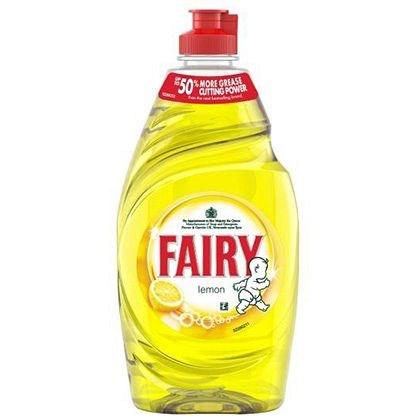 Washing Up Liquid, Fairy, Lemon, 433ml