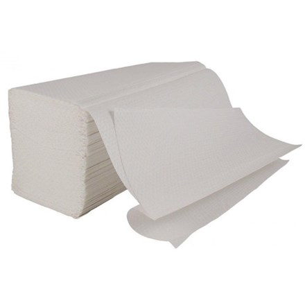 Handtowels, M-Fold, Enigma, 2 Ply, White, 3000 Sheet