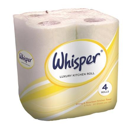 Kitchen Towel, Esfina, 2Ply, White, 24 Rolls