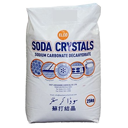 Soda Crystals, 25kg