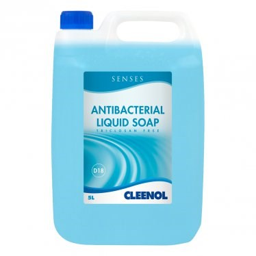 Soap, Hand, Cleenol, Senses, Antibacterial, 5 Ltr