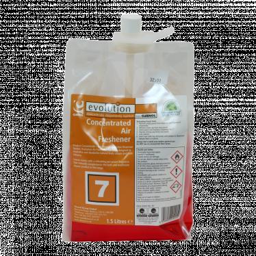 Air Freshener, Cleenol, EV7 Peach, 2x1.5ltr