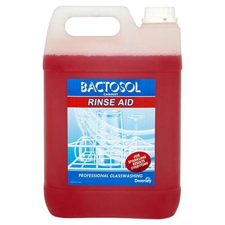 Dishwash Liquid, Bactosol, Rinseaid, 5Ltr