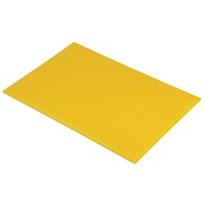 Catering, Chopping Board, 18x12, Yellow
