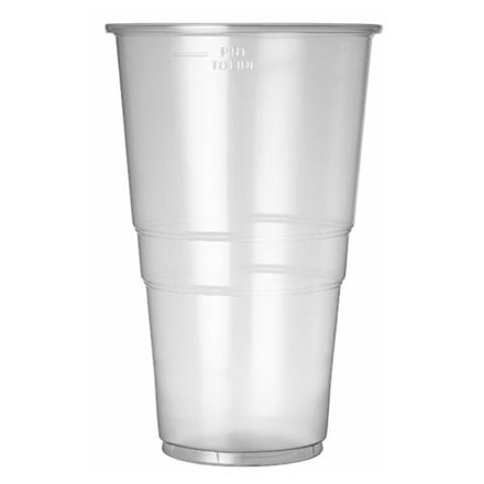 Glassware, Disposable, Flexi-Glass, Pint, 24oz L20, 500