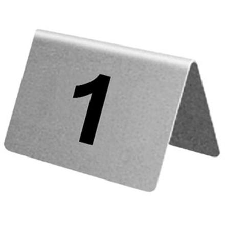 Tableware, Table Numbers, S/S, 1-10