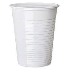 Cups, Plastic, 7oz, Non Vend, White, 2000