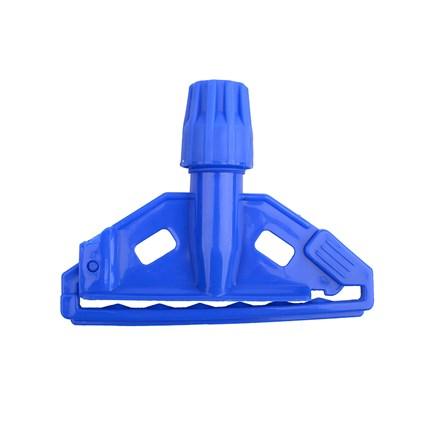 Kentucky Mop Holder, Plastic Clip, Blue