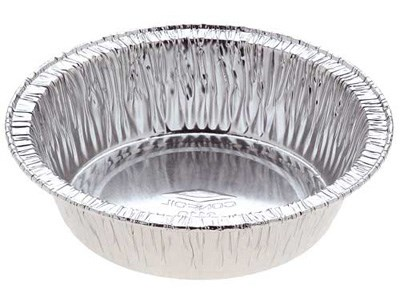 Catering, Foil, AFC Round Pie Tray, 110 x 110 x 20mm, 4000